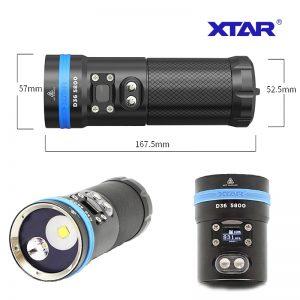 15-0136 – XTAR-D36-5800 -diving-flashlight full