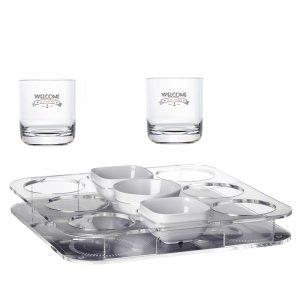 32-0186 – 16104_Tray Glasses Snacks_6Glasses